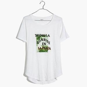 Madewell Tequila Sunrise t-shirt